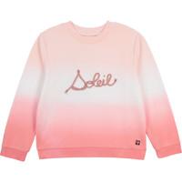 Υφασμάτινα Κορίτσι Φούτερ Carrément Beau Y15373-N44 Άσπρο / Ροζ