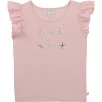 Υφασμάτινα Κορίτσι T-shirt με κοντά μανίκια Carrément Beau Y15378-44L Ροζ