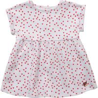 Υφασμάτινα Κορίτσι Κοντά Φορέματα Carrément Beau Y92119-10B Άσπρο