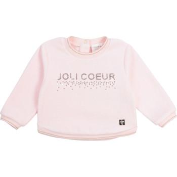 Υφασμάτινα Κορίτσι Φούτερ Carrément Beau Y95254-44L Ροζ