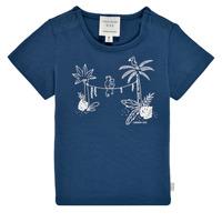 Υφασμάτινα Αγόρι T-shirt με κοντά μανίκια Carrément Beau Y95274-827 Marine