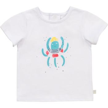 Υφασμάτινα Αγόρι T-shirt με κοντά μανίκια Carrément Beau Y95275-10B Άσπρο