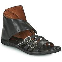 Παπούτσια Γυναίκα Σανδάλια / Πέδιλα Airstep / A.S.98 RAMOS HIGH Black