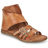 Παπούτσια Γυναίκα Σανδάλια / Πέδιλα Airstep / A.S.98 RAMOS HIGH Camel