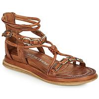 Παπούτσια Γυναίκα Σανδάλια / Πέδιλα Airstep / A.S.98 POLA SQUARE Camel
