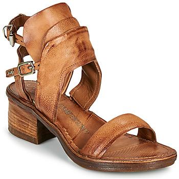 Παπούτσια Γυναίκα Σανδάλια / Πέδιλα Airstep / A.S.98 KENYA BUCKLE Camel