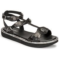 Παπούτσια Γυναίκα Σανδάλια / Πέδιλα Regard ANGLET Black
