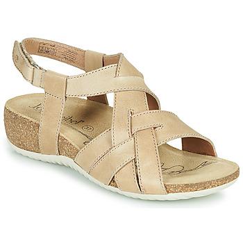 Παπούτσια Γυναίκα Σανδάλια / Πέδιλα Josef Seibel NATALYA 16 Beige