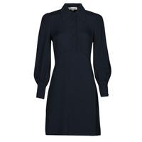 Υφασμάτινα Γυναίκα Κοντά Φορέματα MICHAEL Michael Kors VI SATIN MINI DRESS Marine