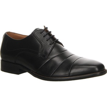 Παπούτσια Άνδρας Derby Salamander Henley Flats Black