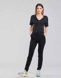 Υφασμάτινα Γυναίκα Παντελόνια Πεντάτσεπα Karl Lagerfeld SUMMERPUNTOPANTS Black