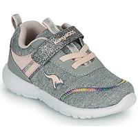 Παπούτσια Κορίτσι Χαμηλά Sneakers Kangaroos KY-CHUMMY EV Grey / Ροζ