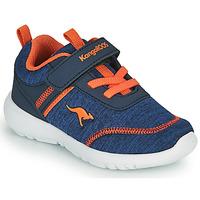 Παπούτσια Αγόρι Χαμηλά Sneakers Kangaroos KY-CHUMMY EV Μπλέ / Orange