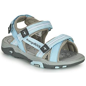 Παπούτσια Παιδί Σανδάλια / Πέδιλα Kangaroos K-LENI Μπλέ / Grey
