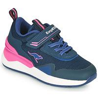 Παπούτσια Κορίτσι Χαμηλά Sneakers Kangaroos KD-GYM EV Μπλέ / Ροζ