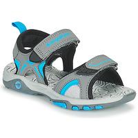 Παπούτσια Παιδί Σανδάλια / Πέδιλα Kangaroos K-MONT Grey / Μπλέ