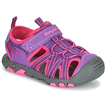 Παπούτσια Κορίτσι Σανδάλια / Πέδιλα Kangaroos K-ROAM Ροζ / Grey