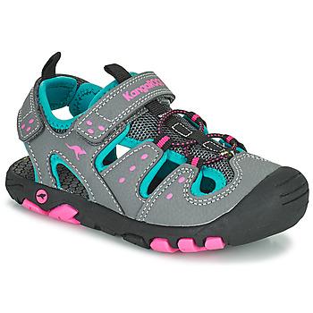 Παπούτσια Κορίτσι Σανδάλια / Πέδιλα Kangaroos K-TREK Grey / Μπλέ