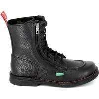 Παπούτσια Μπότες Kickers Meetickzip Noir Black