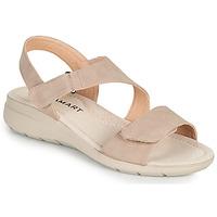 Παπούτσια Γυναίκα Σανδάλια / Πέδιλα Damart 67808 Beige / Ροζ