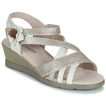 Παπούτσια Γυναίκα Σανδάλια / Πέδιλα Damart 61170 Silver