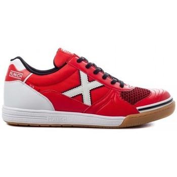 Παπούτσια Άνδρας Χαμηλά Sneakers Munich INDOOR 1068 3111068 Red