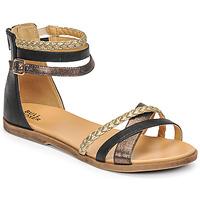 Παπούτσια Κορίτσι Σανδάλια / Πέδιλα Bullboxer ALM013F1S-ROSE Black