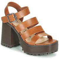Παπούτσια Γυναίκα Σανδάλια / Πέδιλα Emmshu DITA Cognac