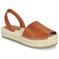 Παπούτσια Γυναίκα Σανδάλια / Πέδιλα Emmshu LUZIA Cognac