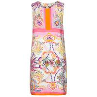 Υφασμάτινα Γυναίκα Κοντά Φορέματα Derhy SEOUL Ροζ / Multicolour