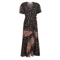 Υφασμάτινα Γυναίκα Μακριά Φορέματα Derhy SUEDE Black / Multicolour