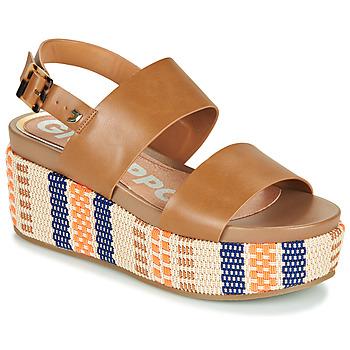 Παπούτσια Γυναίκα Σανδάλια / Πέδιλα Gioseppo COWLEY Cognac