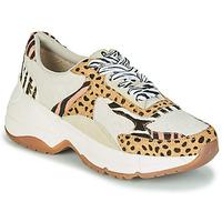 Παπούτσια Γυναίκα Χαμηλά Sneakers Gioseppo FORMIA Άσπρο / Leopard
