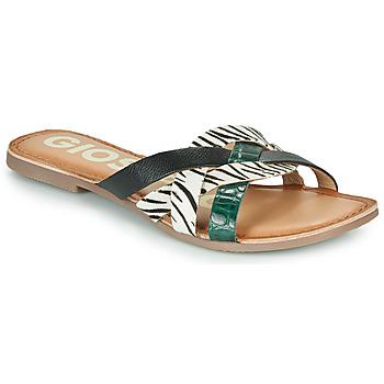 Παπούτσια Γυναίκα Τσόκαρα Gioseppo STILES Black / Άσπρο