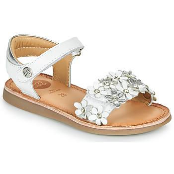 Παπούτσια Κορίτσι Σανδάλια / Πέδιλα Gioseppo MAZARA Άσπρο / Silver