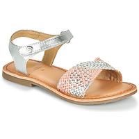 Παπούτσια Κορίτσι Σανδάλια / Πέδιλα Gioseppo QUINCY Silver / Ροζ