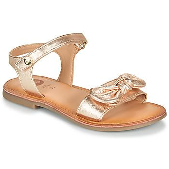 Παπούτσια Κορίτσι Σανδάλια / Πέδιλα Gioseppo CLEBER Ροζ / Χρυσο