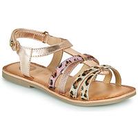 Παπούτσια Κορίτσι Σανδάλια / Πέδιλα Gioseppo PALMYRA Ροζ / Χρυσο