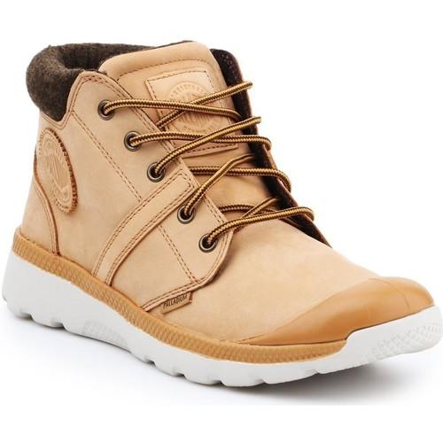 Παπούτσια Άνδρας Ψηλά Sneakers Palladium Manufacture Pallaville HI Cuff L 05160-280-M brown