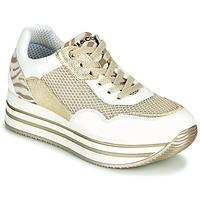 Παπούτσια Γυναίκα Χαμηλά Sneakers IgI&CO ALMINTA Άσπρο / Gold