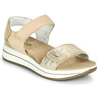 Παπούτσια Γυναίκα Σανδάλια / Πέδιλα IgI&CO FRAPLA Gold