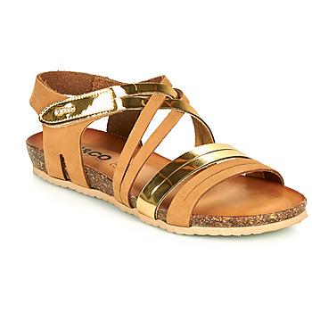 Παπούτσια Γυναίκα Σανδάλια / Πέδιλα IgI&CO DREZZINA Cognac / Gold