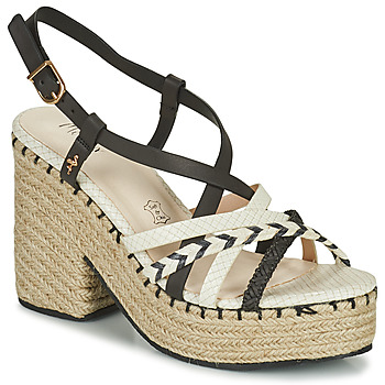 Παπούτσια Γυναίκα Σανδάλια / Πέδιλα Menbur BALMUCCIA Black / Άσπρο