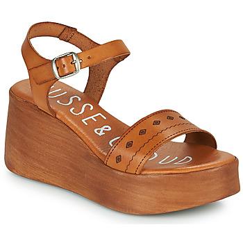 Παπούτσια Γυναίκα Σανδάλια / Πέδιλα Musse & Cloud MILI Cognac