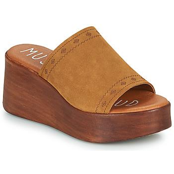 Παπούτσια Γυναίκα Τσόκαρα Musse & Cloud MANA Cognac