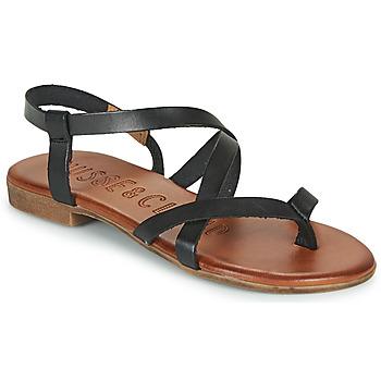 Παπούτσια Γυναίκα Σανδάλια / Πέδιλα Musse & Cloud ESTELA Black