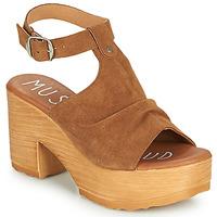Παπούτσια Γυναίκα Σανδάλια / Πέδιλα Musse & Cloud FOXY Cognac