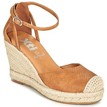 Παπούτσια Γυναίκα Εσπαντρίγια Xti NINA Cognac