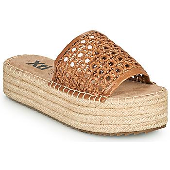 Παπούτσια Γυναίκα Τσόκαρα Xti FREDI Camel