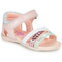 Παπούτσια Κορίτσι Σανδάλια / Πέδιλα Pablosky KINNO Ροζ